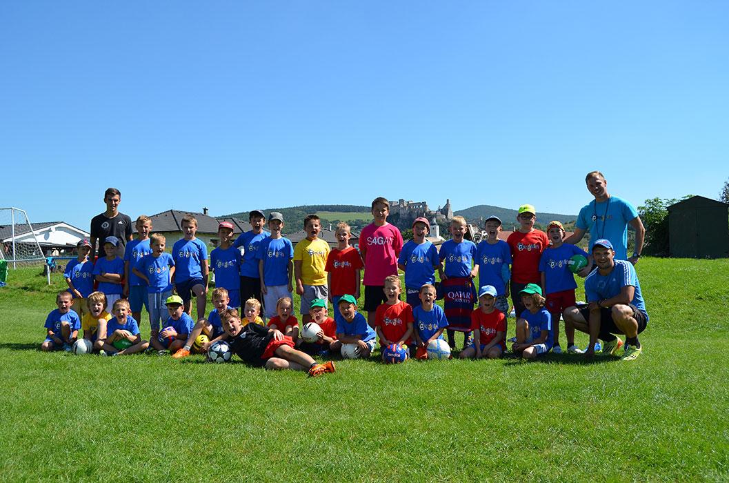 Futbalovo–florbalový denný camp