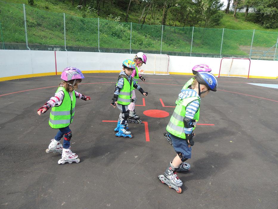 Kurz in – line korčuľovania