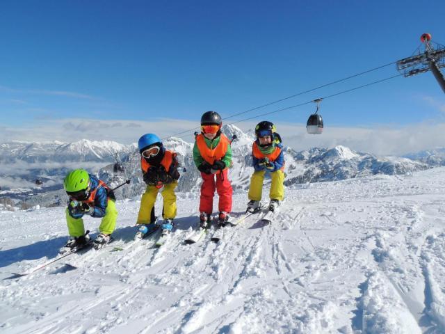 Rodinná lyžovačka Hochkar, Rakúsko