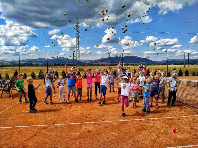 Denný tenisovo-športový camp Trenč. Stankovce 2021